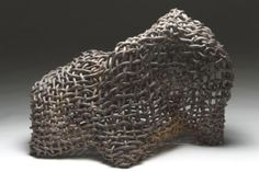 patternprints journal: BEAUTIFUL WEAVING AND SURFACE EFFECTS INTO CERAMIC SCULPTURES BY PHYLLIS KUDDER SULLIVAN