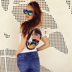 #nasa #america #americanflag #redhead #redhair #ginger #rajelegance #dnesnosim #fashion #glasses #fashionblogger #style #stylish #youngfashion #universe #susanetalks #ootd #outfit #instagram_faces #illgrammers #createcommune #woman #crazy #messy #dreamingoftheinfinite #mood #moodyports #vsco #trendbookcz #liberec