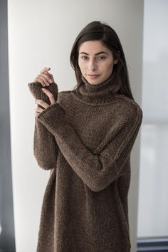 RoseUniqueStyle is a slow-fashion brand that offers handcrafted luxury knitwear. Shop tasteful styles at cost-effective prices. Loose Knit Sweaters, Wool Sweaters, Oversized Sweaters, Alpaca Wool, Baby Alpaca, Merino Wool, Cardigan En Maille, Cardigans For Women, Pulls