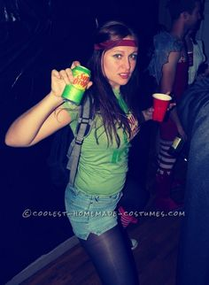 The Sundrop Girl Who Hit Town with a Cool Halloween Costume