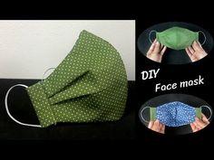 Sewing Tutorials, Sewing Patterns Free, Free Sewing, Sewing Hacks, Sewing Crafts, Sewing Projects, Pattern Sewing, Free Pattern, Diy Face Mask