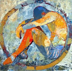"""""""I will not stress myself out about things I can not control or change."""" Artist: Jylian Gustlin"""