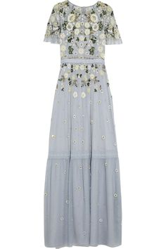 NEEDLE & THREAD Embellished tulle gown  $550.00 https://www.net-a-porter.com/product/706339