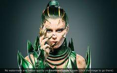 Elizabeth Banks Rita Repulsa Power Rangers HD wallpaper