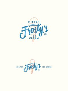 and red double exposure mimics retro along with vintage typography in greeninblue's ice cream logo.Blue and red double exposure mimics retro along with vintage typography in greeninblue's ice cream logo. Logos Vintage, Vintage Logo Design, Vintage Typography, Retro Design, Typography Design, Typography Tutorial, Typography Drawing, Fashion Typography, Typography Alphabet