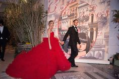 Beatrice Borromeo Dazzle in Giambattista Valli at Monaco's Rose Ball