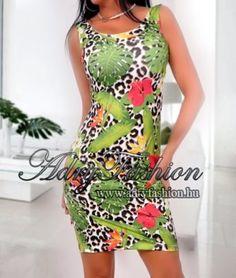 38ce915e6e Rensix trikó ruha párduc mintás - AdryFashion női ruha webáruház, Ruha  webshop, Amnesia, NedyN, Rensix , Egyedi ruha
