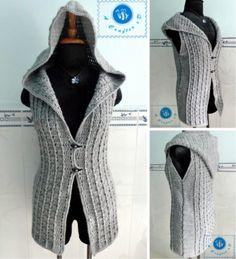 Crochet Hooded Sweater Free Pattern Ideas