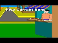 Five Currant Buns in the Baker's Shop | Fun with Rhymes (With Lyrics)