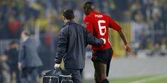 Vidéo blessure Paul Pogba lors Fenerbahçe - Manchester United !