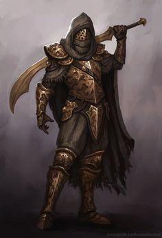 Knight3, Jonas Jerde on ArtStation at https://www.artstation.com/artwork/qeeVe