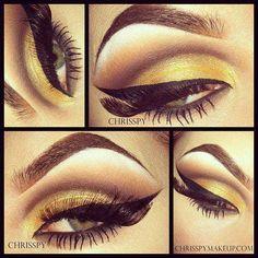 Amazing eye make up ❤
