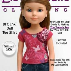 Free Printable Doll Clothes Patterns {Free Sewing Patterns}