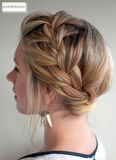 Oh the lovely things: Search results for hair ~ I love when my daughter fancies up my hair like this :)