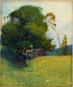 Sydney Long, 1909. http://artsearch.nga.gov.au/Detail-LRG.cfm?IRN=45038=true