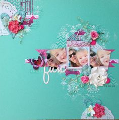 Layout by Amanda Lawrence using D-lish Scraps products
