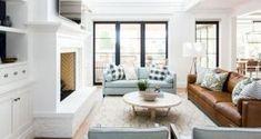 42 Favourite Modern Farmhouse Sofa Family Rooms Decor Ideas And Design - Home/Decor/Diy/Design Living Room Bench, Living Room Furniture, Living Room Decor, Sofa Layout, Cool Furniture, Modern Furniture, Family Room Decorating, Farmhouse Furniture, Cozy House