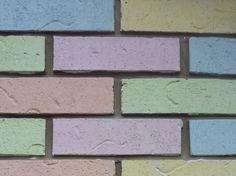 Color Pastel - Pastels!!! Brick wall