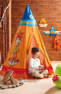 Tepee are so trendy!!! available at www.hooplaroom.com #tepee #teepee #playroom