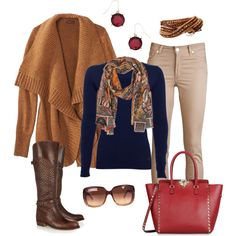 """""""Chunky Cardigan"""" by smores1165 on Polyvore"""