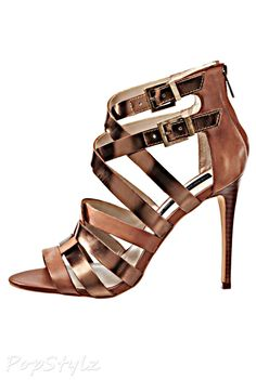 Steve Madden Lively Leather Strappy Sandals
