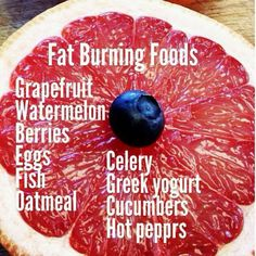 Fat Burning Foods! #healthy #tips