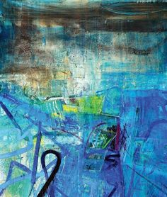 The brilliant Barbara Rae RA. She is a judge for us this year! Contemporary Landscape, Abstract Landscape, Contemporary Artists, Landscape Paintings, Abstract Paintings, Landscapes, Abstract Geometric Art, Abstract Photos, Barbara Rae
