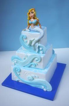 Too cute not to pin! Mermaid Cake