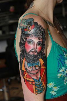 Bearded Lady - Valerie Vargas 2012