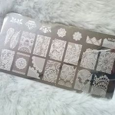 #myplate#stampingplates#plate#silver#patterns #likeit#nails
