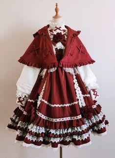 Kawaii Fashion, Lolita Fashion, Cute Fashion, Look Fashion, Cute Casual Outfits, Pretty Outfits, Pretty Dresses, Kawaii Dress, Kawaii Clothes