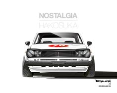 Hakosuka GT-R Art by Benslamin