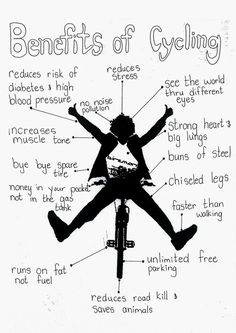 Benifits of cycling