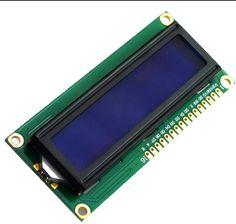 1 шт. LCD1602 ЖК-монитор 1602 5 В синий экран и белый код для arduino