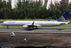 N57862 Continental Airlines Boeing 757-300