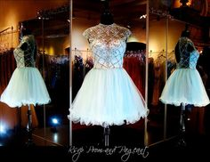 100BP098560 PALE BLUE HOMECOMING DRESS Dramatic Crystal Illusion Bodice features Beautiful Beadwork and Cap Sleeves. Gorgeous and ONLY at Rsvp Prom and Pageant in Lawrenceville, Georgia! Come and Try in on or Buy it NOW at http://rsvppromandpageant.net/collections/short-dresses/products/100bp098560-pale-blue-homecoming-dress