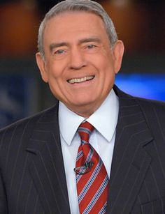 Dan Rather- i have so much respect for him!  everytime i see him speak, he seems to exude integrity!!