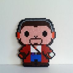 Star Lord - Guardians of the Galaxy  perler beads by robs_geek_cave