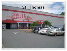 For shopping in St. Thomas USVI