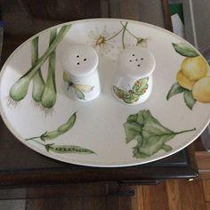 #porcelains #paint#drawing #porcelana #green #verduras#art #colours #gift