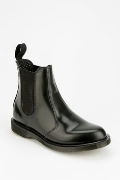Dr. Martens Flora Chelsea Ankle Boot urban outfitters online only $140.00 love these as they are slip ons and docs!