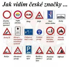 jak vidim ceske znacky Funny Pins, Funny Moments, Haha, Funny Pictures, Jokes, Learning, Fanny Pics, Husky Jokes, Ha Ha