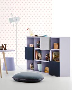 The Battistella Holly Bookcase is available on our website now, linked here Interior Styling, Interior Decorating, Apartments Decorating, Decorating Bedrooms, Interior Design, Decorating Ideas, Decor Ideas, Modern Childrens Furniture, Contemporary Furniture
