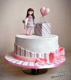 Cake Gorjuss - cake by FondanEli