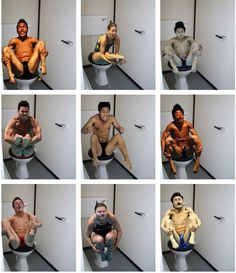 Olympic diver still shots on toilets...I have no words.