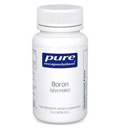 Boron (glycinate)   Dietary Supplements