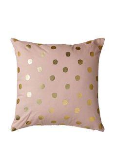 Kissen Dots gold von Bloomingville