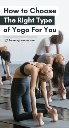 Types of Yoga: How to Choose The Right Type of Yoga For You | Are you a yoga beginner? Here