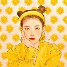 Kpop Drawings, Cute Drawings, Pretty Art, Cute Art, Kpop Anime, Fan Art, Korean Art, Kpop Fanart, Anime Art Girl