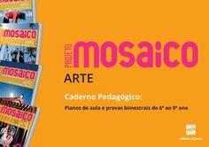 Caderno mosaico arte